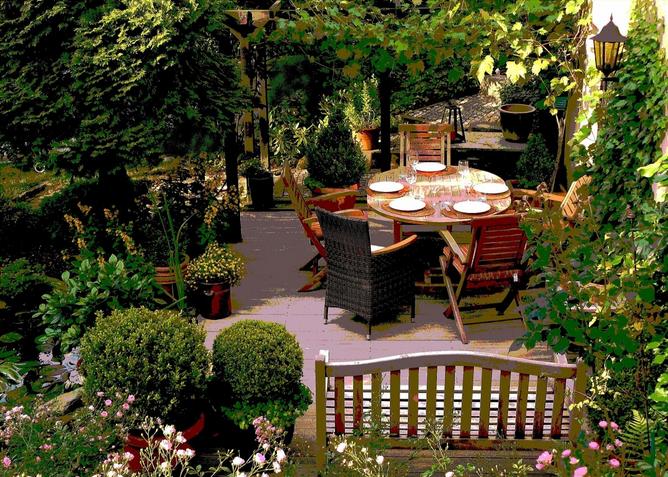 Hartman Gartenmöbel sorgen für ein schönes und erholsames Ambiente